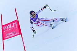08-02-2011 SKIEN: FIS ALPINE WORLD CHAMPIONSSHIP: GARMISCH PARTENKIRCHEN<br /> Elisabeth Goergl (AUT) whilst competing in the women's super giant slalom (SuperG) race on the Kandahar race piste at the 2011 Alpine skiing World Championships.   <br /> **NETHERLANDS ONLY**<br /> ©2011-WWW.FOTOHOOGENDOORN.NL/NPH-J. Feichter