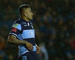 Rey Lee-Lo of Cardiff Blues<br /> <br /> Photographer Simon King/Replay Images<br /> <br /> Guinness PRO14 Round 14 - Cardiff Blues v Connacht - Saturday 26th January 2019 - Cardiff Arms Park - Cardiff<br /> <br /> World Copyright © Replay Images . All rights reserved. info@replayimages.co.uk - http://replayimages.co.uk