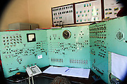 Train station control room at Haghpat, Lori Province, Armenia