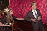 REBECCA HOFFNUNG;; FRANCIS BOULLE; ;, Tatler magazine Jubilee party with Thomas Pink. The Ritz, Piccadilly. London. 2 May 2012