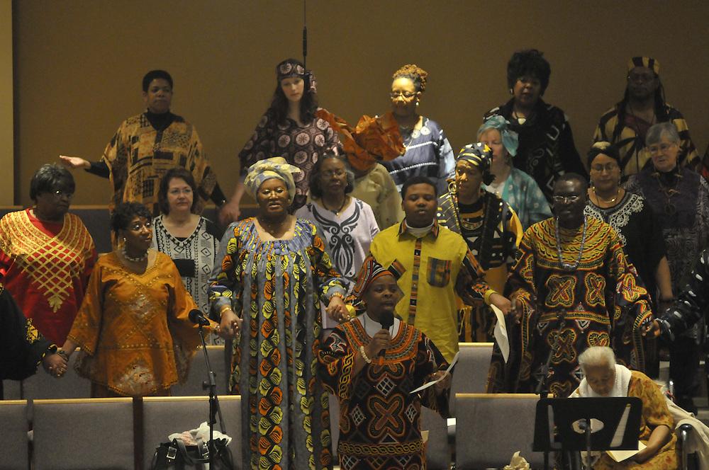 The choir.