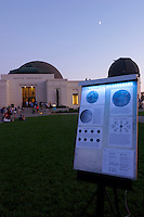 Saturday Night Public Star Party, Griffith Observatory, Los Angeles, California