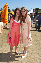 Left to right, PRINCESS EUGENIE OF YORK and PRINCESS BEATRICE OF YORK at the Veuve Clicquot sponsored Gold Cup Final or the British Open Polo Championship held at Cowdray Park, West Sussex on 17th July 2005.<br /><br />NON EXCLUSIVE - WORLD RIGHTS