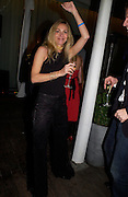 """Monica Selva. Official Pre-Brit Awards 2005 Pool Tournament"""" at The Sanderson Hotel February 8, 2005 in London. The party is hosted by Esquire Magazine ONE TIME USE ONLY - DO NOT ARCHIVE  © Copyright Photograph by Dafydd Jones 66 Stockwell Park Rd. London SW9 0DA Tel 020 7733 0108 www.dafjones.com"""