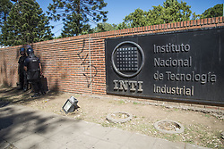 January 29, 2018 - INT.- 2018 January 29; Buenos Aires Province, Argentina.- INTI workers (National Technology Industry Institute) demand on the reinstatement of 250 dismissed workers, in front of the building, San Martin, Buenos Aires Province. (Credit Image: © Julieta Ferrario via ZUMA Wire)