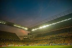 Vista geral da Arena Corinthians durante a partida entre Brasil e Croácia, na abertura da Copa do Mundo 2014, na , em São Paulo. FOTO: Jefferson Bernardes/ Agência Preview