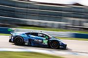 November 12-14, 2020. IMSA Weathertech Mobil1 Sebring 12h: #44 GRT Magnus Racing, Lamborghini Huracan GT3, GTD: John Potter, Andy Lally, Spencer Pumpelly