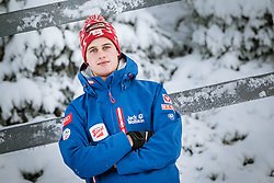 27.11.2014, Nordic Arena, Ruka, FIN, OESV, Nordische Kombinierer, Fotoshooting, im Bild Paul Gerstgraser (AUT) // Paul Gerstgraser of Austria during the Photoshooting of the Ski Austria Nordic Combined Team at the Nordic Arena, Ruka, Finland on 2014/11/27 . EXPA Pictures © 2014, PhotoCredit: EXPA/ JFK