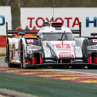Audi Sport Team Joest  Audi R18 e-tron quattro #9 driven by Filipe Albuquerque / Marco Bonanomi / Rene Rast\<br /> WEC 6 Hours of Spa-Francorchamps