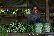 Rural vegetable market<br /> Nagaland,  ne India