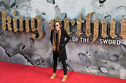 London, May 10th 2017. Dougie Poynter attends the European premiere of King Arthur - Legend of the Sword at the Cineworld Empire in Leicester Square.