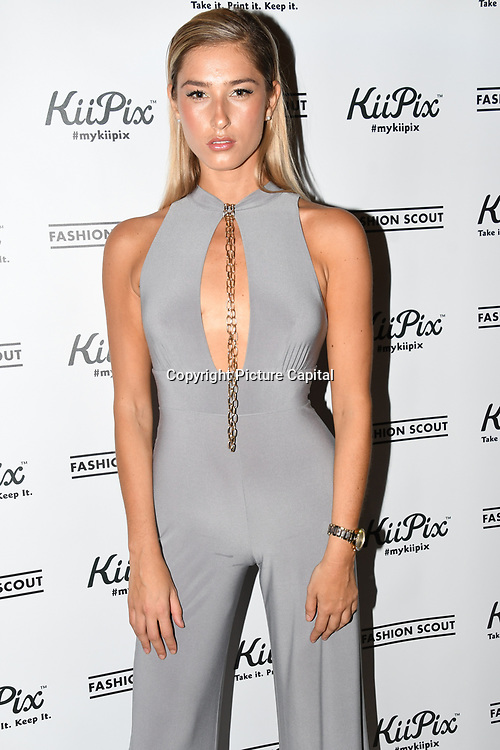 Model attend the Fashion Scout - SS19 - London Fashion Week - Day 1, London, UK. 14 September 2018.