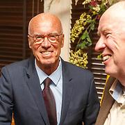 NLD/Rotterdam/20151027 - Boeklancering Leo Beenhakker, Joerien van der Herik en Eddy Poelman