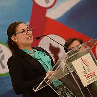 TOLUCA, México.- (Julio 05, 2017).- Karla Ericka Vera San Juan, Directora de Desarrollo Urbano y movilidad durante el Foro Nuestra Toluca… con visión ordenada y sustentable, a través del Plan Municipal de Desarrollo Urbano. Agencia MVT / Crisanta Espinosa.