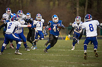 NHIAA semi final football Interlakes versus Winnisquam.  Karen Bobotas for the Laconia Daily Sun