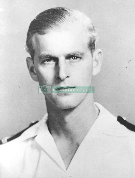 File photo dated 01/05/51 of The Duke of Edinburgh as Commander of the Frigate HMS Magpie in 1951. Philip joined the Navy after leaving school and in May 1939 enrolled at the Royal Naval College in Dartmouth, where he was singled out as best cadet. He rose rapidly through the ranks, earning promotion after promotion, but his life was to take a very different course. The dukeÕs flourishing naval career came to a premature end in 1951. Philip stepped down from his active role in the forces to fulfil his duty as consort. Issue date: Friday April 4, 2021.