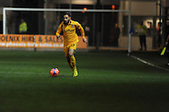 Robbie Willmott of Newport county in action.FA cup with Budweiser, 1st round replay, Newport county v Braintree Town at Rodney Parade in Newport, South Wales on Tuesday 19th November 2013. pic by Andrew Orchard, Andrew Orchard sports photography,