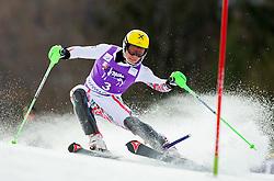 HIRSCHER Marcelof Austria competes during 1st Run of Men's Slalom - Pokal Vitranc 2012 of FIS Alpine Ski World Cup 2011/2012, on March 11, 2012 in Vitranc, Kranjska Gora, Slovenia.  (Photo By Vid Ponikvar / Sportida.com)