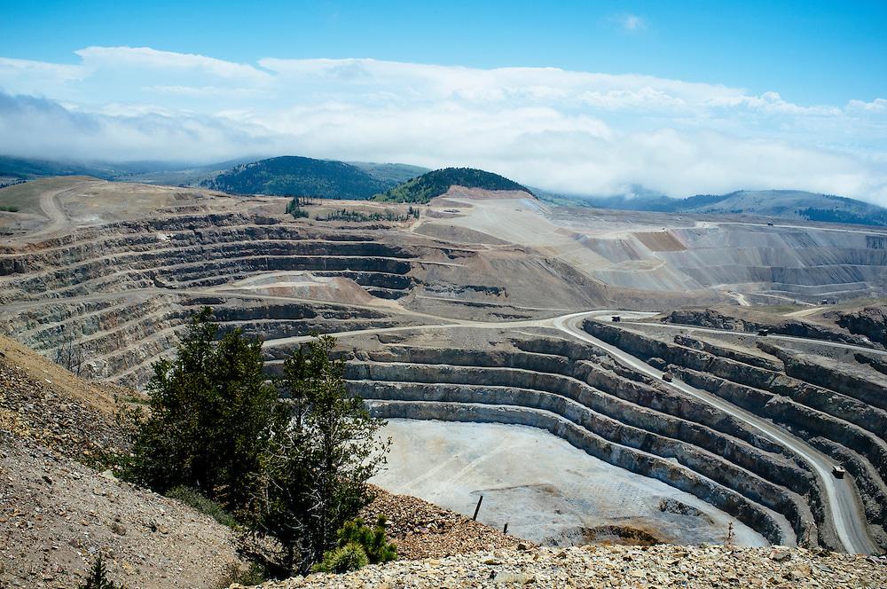 Mining in Victor, Colorado
