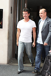 © Licensed to London News Pictures. 28/08/2013. LONDON. Simon Cowell, The X Factor - Press Launch 2013, The Mayfair Hotel, London UK, 29 August 2013. Photo credit : Brett D. Cove/Piqtured/LNP