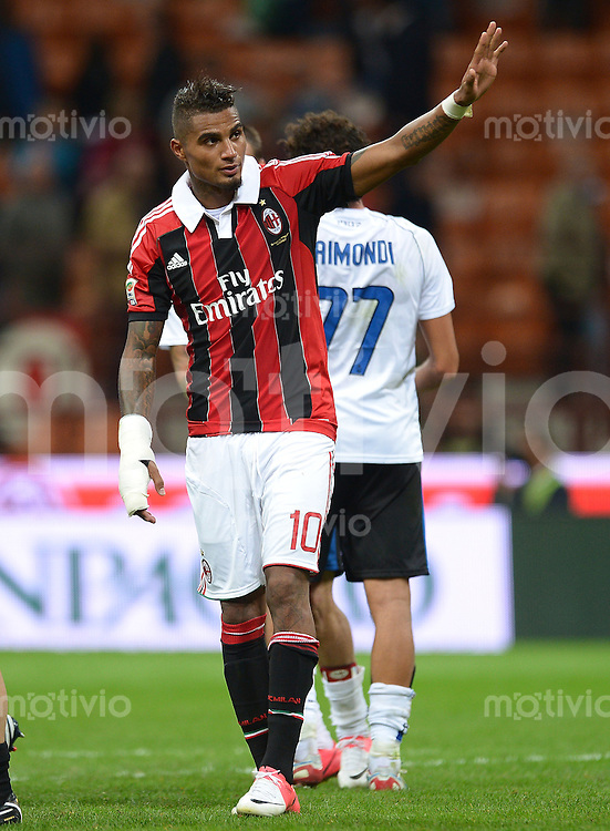 FUSSBALL INTERNATIONAL   SERIE A   SAISON 2012/2013    AC Mailand - Atalanta  15.09.2012 Kevin Prince Boateng (AC Mailand)