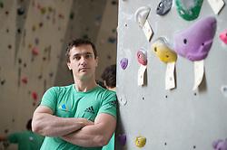 Gorazd Hren, team selector, during Slovenija Pleza event when presented Slovenian Olympic Climbing Team for Olympic Games Tokio 2020, on April 12, 2017 in Plezalni center Ljubljana, Ljubljana, Slovenia. Photo by Anze Petkovsek / Sportida