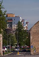 08.04.2012 Bialystok N/z ulica Kijowska w centrum fot Michal Kosc / AGENCJA WSCHOD