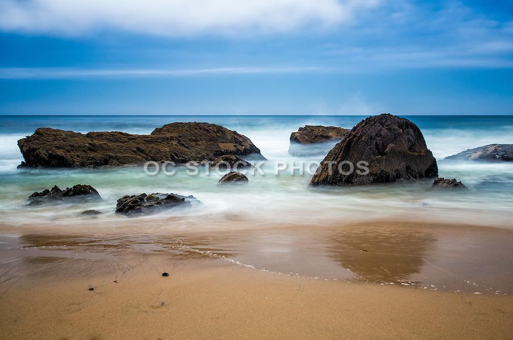 Crystal Cove State Park And Beach Of Laguna Beach California