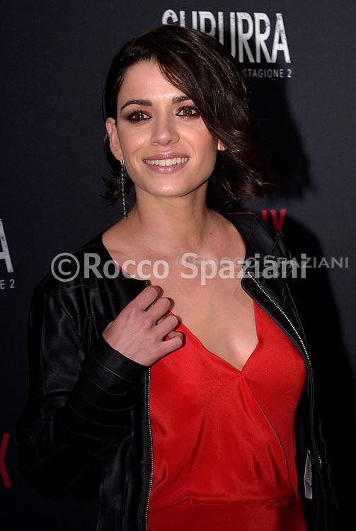 ROME, ITALY - FEBRUARY 20:  Rosa Diletta Rossi attends the after party for Netflix 'Suburra' The Series, season 2 launch at Circolo Degli Illuminati on February 20, 2019 in Rome, Italy.