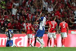 October 7, 2018 - Lisbon, Portugal - Porto's Mexican forward Jesus Corona reacts after the Portuguese League football match SL Benfica vs FC Porto at the Luz stadium in Lisbon on October 7, 2018. (Benfica won 1-0. (Credit Image: © Pedro Fiuza/NurPhoto/ZUMA Press)