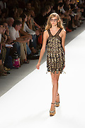 Lace dress. By Custo Barcelona at the Spring 2013 Fashion Week show in New York.