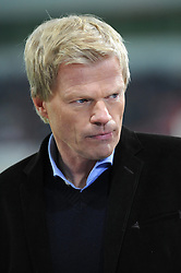 27.11.2013, BayArena, Leverkusen, GER, UEFA CL, Bayer Leverkusen vs Manchester United, Gruppe A, im Bild ZDF Experte Oliver Kahn ( Portrait ) // during UEFA Champions League group A match between Bayer Leverkusen vs Manchester United at the BayArena in Leverkusen, Germany on 2013/11/28. EXPA Pictures © 2013, PhotoCredit: EXPA/ Eibner-Pressefoto/ Thienel<br /> <br /> *****ATTENTION - OUT of GER*****