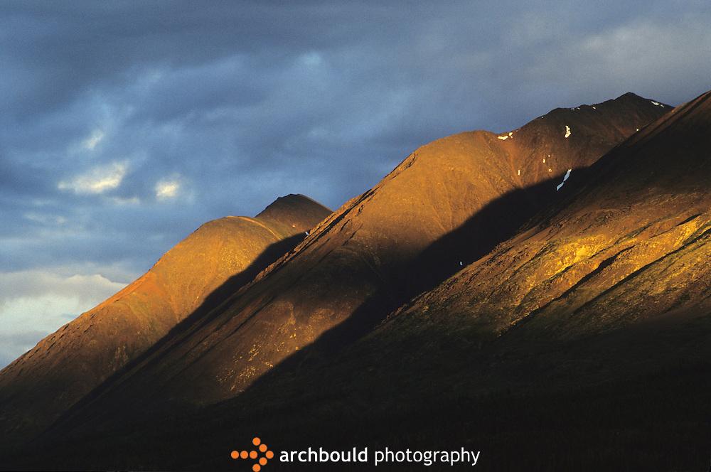 Mountains at Snake River, Yukon