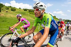 Jani Brajkovic of TEAM Slovenia during 1st Stage of 27th Tour of Slovenia 2021 cycling race between Ptuj and Rogaska Slatina (151,5 km), on June 9, 2021 in Sports park Kranj, Kranj, Slovenia. Photo by Vid Ponikvar / Sportida