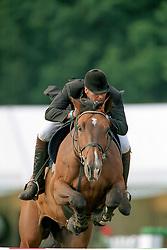 Van Roosbroeck Maurice, BEL, Le Coup C<br /> Belgisch Kampioenschap Kapellen 2001<br /> © Hippo Foto - Dirk Caremans<br /> 04/09/2001