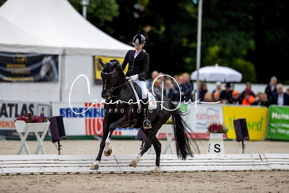 ROCKXPearce Simone, AUS, Dancier Gold<br /> World Championship Young Horses Verden 2021<br /> © Hippo Foto - Dirk Caremans<br />  28/08/2021