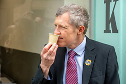 Pictured: Willie Rennie <br /><br />Scottish Liberal Democrat leader Willie Rennie joined Scottish Liberal Democrat MEP candidate Sheila Ritchie to mark Europe day by launching the party's European election campaign. They declared that every vote for the Liberal Democrats in these elections is a vote to stop Brexit.  <br /><br /><br /> Ger Harley | EEm 9 May 2019