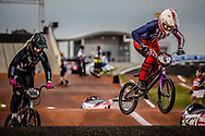 #6 (STANCIL Felicia) USA [Supercross, FLY] at Round 7 of the 2019 UCI BMX Supercross World Cup in Rock Hill, USA