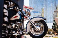 United States, Nevada, Las Vegas Strip. The Harley Davidson Cafe.