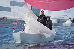 Clyde Cruising Club's Scottish Series 2019<br /> 24th-27th May, Tarbert, Loch Fyne, Scotland<br /> <br /> Day  1 - 1175, Hero, Geoffrey Howison, RGYC, Etchells 22<br /> <br /> Credit: Marc Turner / CCC