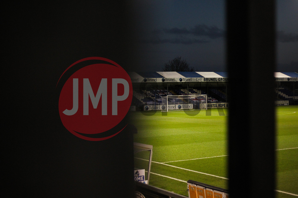 A general view of Memorial Stadium - Mandatory by-line: Will Cooper/JMP - 18/11/2020 - FOOTBALL - Memorial Stadium - Bristol, England - Bristol Rovers v Chelsea U21 - Papa John's Trophy