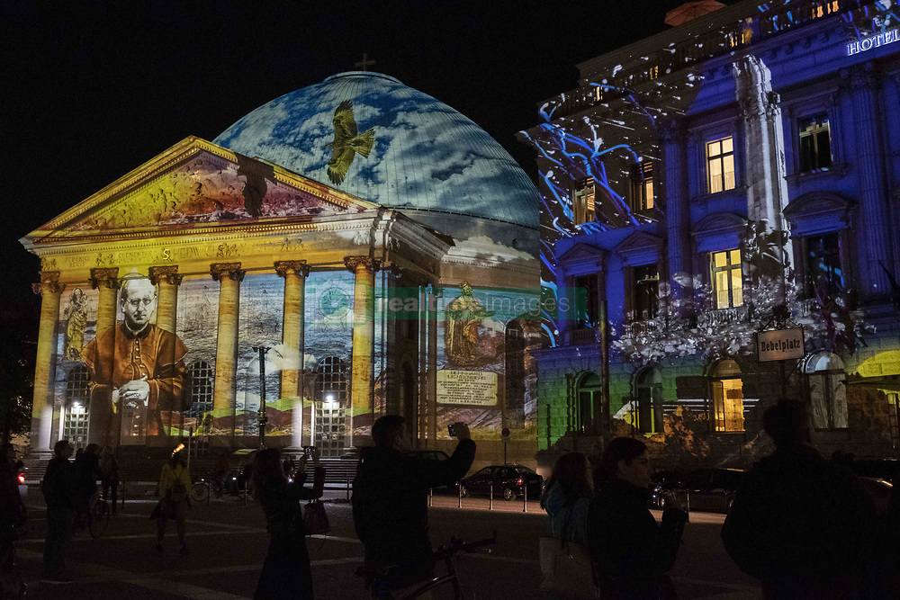 October 5, 2018 - Berlin, Berlin, Germany - Berlin, Germany, 05 October 2018, Festival of lights in Berlin (Credit Image: © Beata Siewicz/Pacific Press via ZUMA Wire)