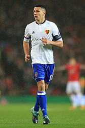 12th September 2017 - UEFA Champions League - Group A - Manchester United v FC Basel - Renato Steffen of Basel - Photo: Simon Stacpoole / Offside.