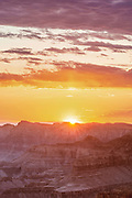 Grandview Point at Dawn,<br />Grand Canyon National Park, Arizona