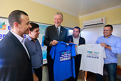 Reunião no diretório municipal do PRB para formalizar apoio a candidatura de José Fortunati a prefeitura de Porto Alegre. FOTO: Jefferson Bernardes/Preview.com