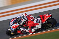 November 21, 2018 - Valencia, Spain - Danilo Petrucci (9) of Italy and Ducati Team during the test of the new MotoGP season 2019 at Ricardo Tormo Circuit in Valencia, Spain on 21th Nov 2018  (Credit Image: © Jose Breton/NurPhoto via ZUMA Press)