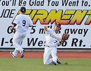 The Washington Wild Things at the Lake Erie Crushers in Frontier League action on June 16, 2010 at All Pro Freight Stadium.