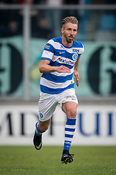 Fabian Serrarens of De Graafschap during the Dutch Jupiler League play-offs match between De Graafschap and sc Telstar at the Vijverberg on May 13, 2018 in Doetinchem, The Netherlands