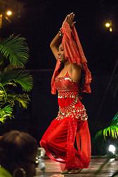 International Wear/Costume Segment.  Saudi Arabia.  Contestant #5 Caija Campbell.  St. John Festival Queen: 2015.  Winston W. Wells Ball Field.  St. John, Virgin Islands.  21 June 2015.  © Aisha-Zakiya Boyd
