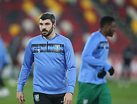 Sheffield Wednesday's Callum Paterson during the warm-up<br /> <br /> Photographer Rob Newell/CameraSport<br /> <br /> The EFL Sky Bet Championship - Brentford v Sheffield Wednesday - Wednesday 24th February 2021 - Brentford Community Stadium - Brentford<br /> <br /> World Copyright © 2021 CameraSport. All rights reserved. 43 Linden Ave. Countesthorpe. Leicester. England. LE8 5PG - Tel: +44 (0) 116 277 4147 - admin@camerasport.com - www.camerasport.com